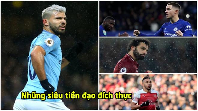 Top 10 chân sút ngoại tốt nhất Premier League mùa này: Cú bứt tốc ngoạn mục của Vua Ai Cập