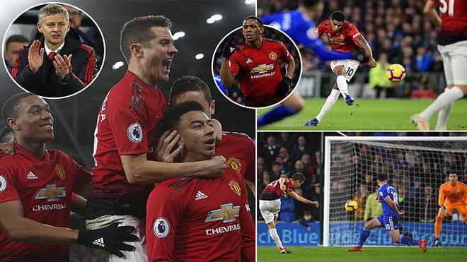 """Hồi sinh khái niệm """"bật như Man"""", M.U xử đẹp Cardiff bằng cơn mưa bàn thắng ấn tượng nhất kể từ đầu mùa"""