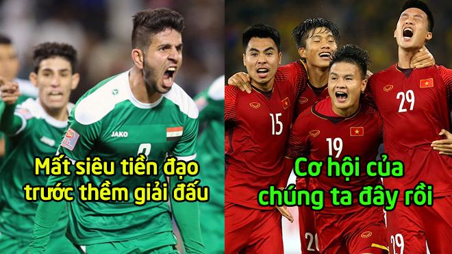 Đối thủ của tuyển Việt Nam ở Asian Cup 2019 mất tiền đạo chủ lực, cơ hội viết tiếp lịch sử của chúng ta đây rồi
