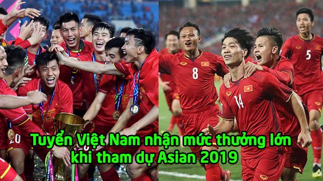 Tiết lộ mức thưởng cực S.Ố.C của ĐTVN khi tham dự Asian Cup 2019: Nhưng nhìn sang châu Âu thì không khỏi chạnh lòng