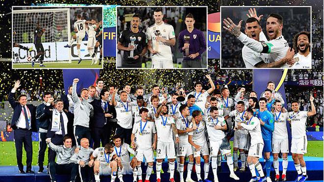Quả bóng Vàng 2018 tỏa sáng rực rỡ, Real Madrid CHÍNH THỨC lên ngôi vô địch FIFA Club World Cup 2018