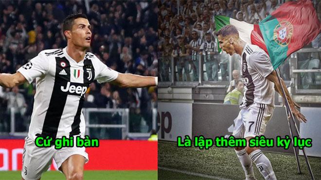 Chỉ cần nửa mùa giải, Ronaldo đã giúp Juventus lập kỷ lục chưa từng có trong lịch sử 120 năm của Serie A