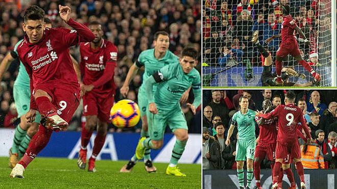 """Kết quả Liverpool vs Arsenal: Hat-trick siêu sao, ki.nh hoàng 5 """"cú đấm"""" hạng nặng"""
