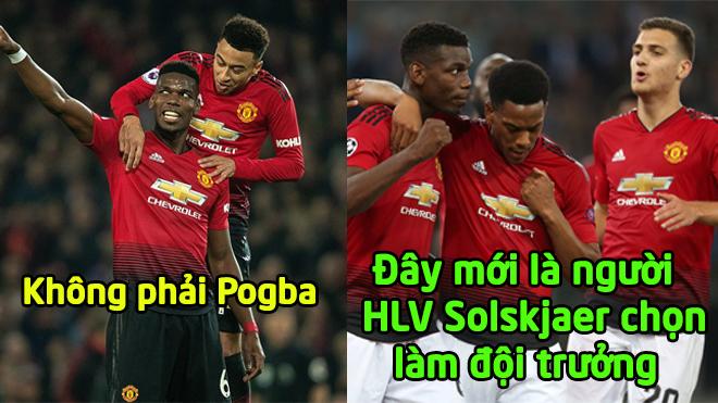Solskjaer CHÍNH THỨC xác định gương mặt sẽ là thủ quân Man Utd, Pogba vẫn chưa có cửa