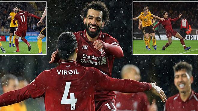 Vua Ai Cập tỏa sáng như một vị thần, Liverpool hạ gục Wolves đồng thời giữ vững ngôi đầu