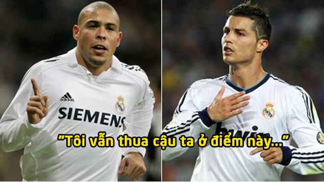 """Ronaldo """"béo"""" chỉ ra điều mình thua kém CR7: Phong độ chỉ là nhất thời mà thôi"""