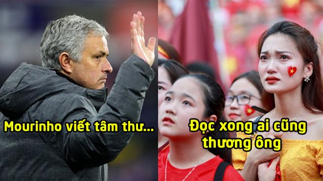 Sau tất cả, Jose Mourinho viết tâm thư phá vỡ sự im lặng về việc bị M.U sa thải, đọc xong ai cũng thương ông