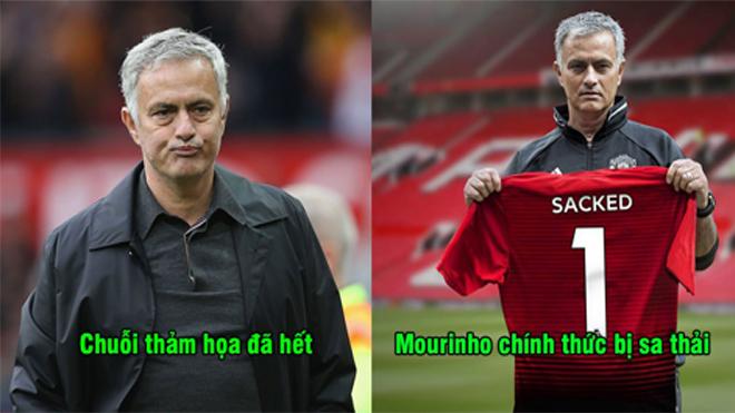 CHÍNH THỨC: Manchester United sa thải HLV Jose Mourinho, bổ nhiệm gấp 1 HLV tạm quyền