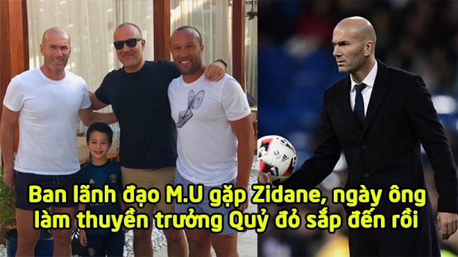 MU cử người sang tận Dubai để gặp gỡ Zidane, ngày huyền thoại nước Pháp đến Old Trafford không còn xa nữa rồi!