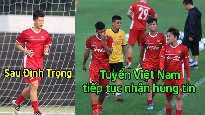 Sau Đình Trọng, thêm một siêu chiến binh của ĐTVN dính chấn thư.ơng, nguy cơ bỏ lỡ ASIAN Cup