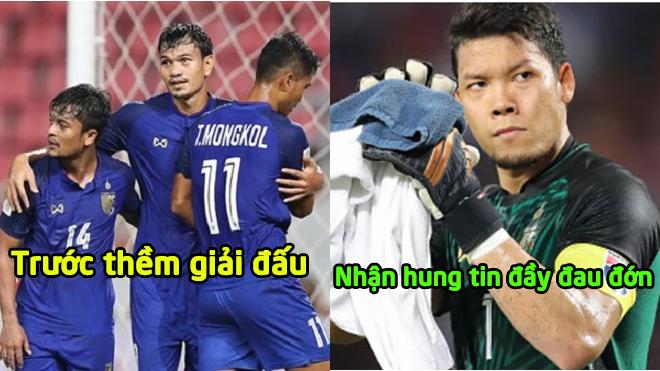 Tuyển Thái Lan chịu tổn thất cực lớn trước thềm Asian Cup 2019, khó khăn chồng chất khó khăn
