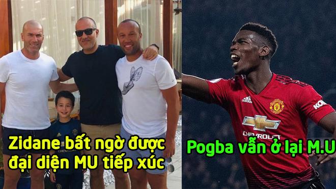 """CHUYỂN NHƯỢNG MU 29/12: Đại sứ """"Quỷ đỏ"""" bất ngờ """"đi đêm"""" cùng Zidane, MU không bán Pogba đầu năm mới"""