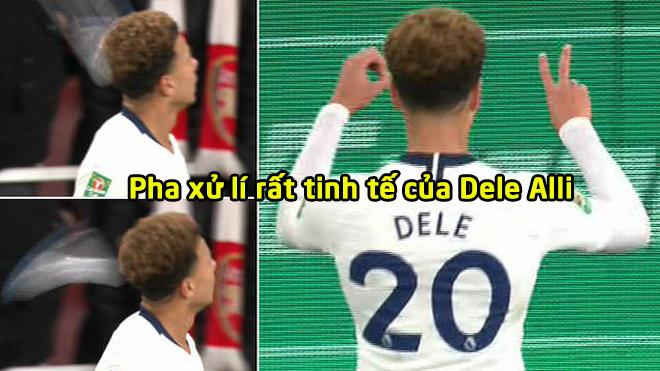 Bị fan Arsenal n.é.m chai nước vào đầu, Dele Alli có phản ứng cực kì đẳng cấp khiến NHM hả hê