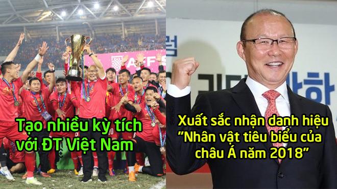 Cùng ĐT Việt Nam giành bao kỳ tích, thầy Park vừa được nhận danh hiệu Nhân vật tiêu biểu châu Á 2018 khiến ai cũng ngưỡng mộ