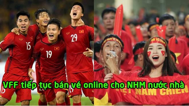 Vé xem trận Việt Nam gặp CHDCND Triều Tiên tiếp tục được bán online