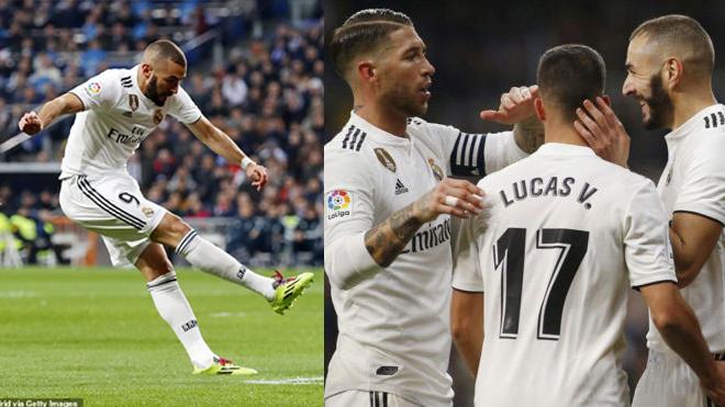 Benzema khai hỏa; Real Madrid vẫn phải nhọc nhằn vượt ải Rayo Vallecano ngay tại thánh địa Bernabeu