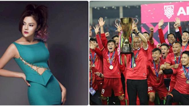 """Siêu mẫu Thu Phương """"chơi trội"""" thưởng 2 tỉ đồng cho thầy Park và các học trò"""