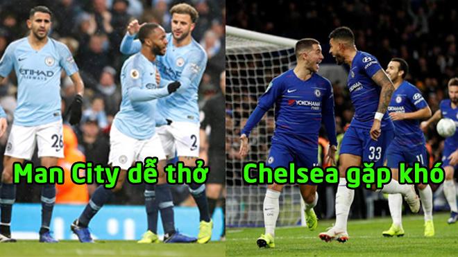 Bốc thăm bán kết League Cup: Man City 'dễ thở', Chelsea đụng độ 'Gà trống'