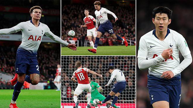 Ronaldo Hàn lại tỏa sáng như một vị thần, Tottenham đ.á.n.h sập Pháo đài Emirates không thương tiếc