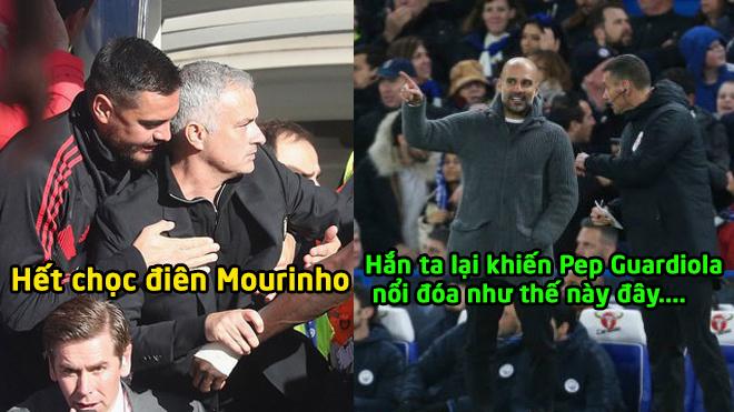 Trước là Mourinho, lần này trợ lý của Sarri tiếp tục khiến Pep Guardiola nổi khùng