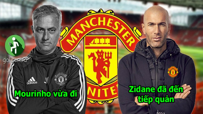 """Mourinho bị đuổi chưa đến 1 ngày, Zidane đã có mặt tại Anh sẵn sàng tái xuất vực dậy """"con tàu đắm"""" MU"""