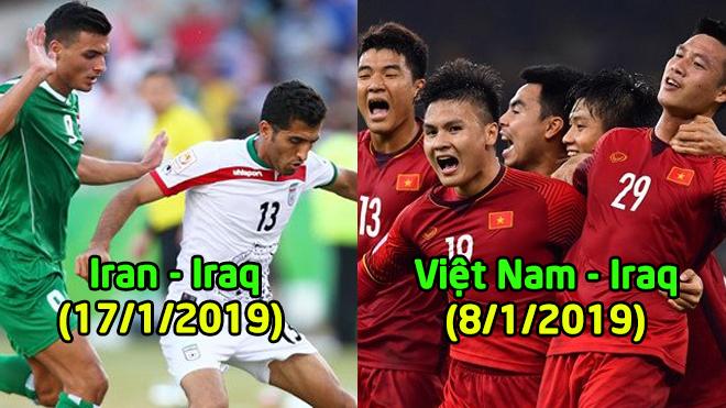 10 cặp đấu đáng xem nhất vòng bảng Asian Cup: Việt Nam sẽ hạ gục Iraq?