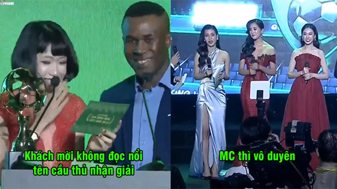 Tổ chức lễ trao giải như trò hề, BTC Gala Quả bóng Vàng Việt Nam 2018 bị cộng đồng mạng ném đá dữ dội