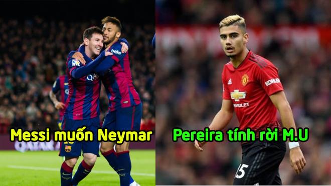 CHUYỂN NHƯỢNG 28/12: Messi muốn tái hợp Neymar, M.U sắp sửa đánh rơi viên ngọc quý vào tay Arsenal