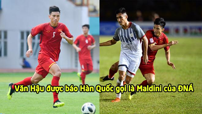 """Báo Hàn Quốc: """"Cầu thủ số 5 của Việt Nam đá hay như Paolo Maldini"""""""