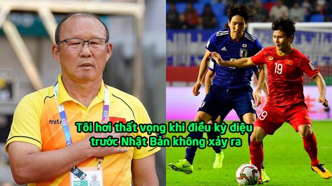 """Thầy Park: """"Tôi hơi thất vọng khi điều kỳ diệu trước Nhật Bản không xảy ra"""""""