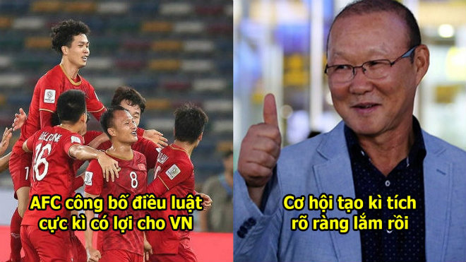 Asian Cup công bố điều luật đặc biệt từ vòng knock-out giúp đội thể lực yếu như Việt Nam tràn trề cơ hội lập kì tích