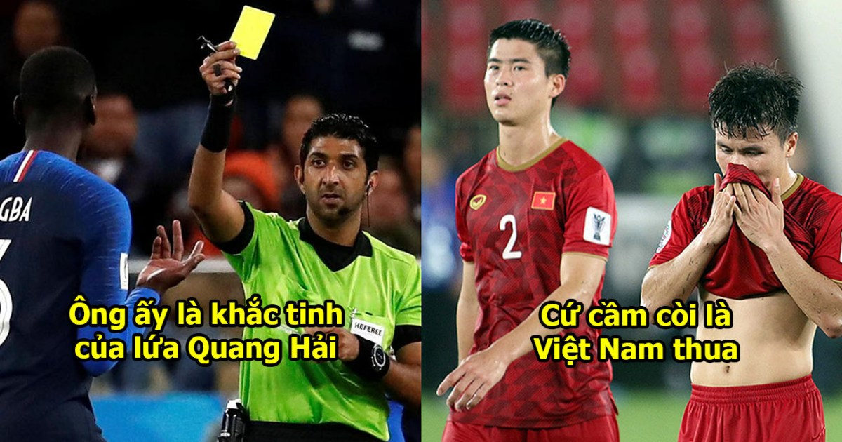 Công bố trọng tài bắt chính trận tứ kết Việt Nam – Nhật Bản: Cả 2 lần cầm còi, Việt Nam thua cả 2