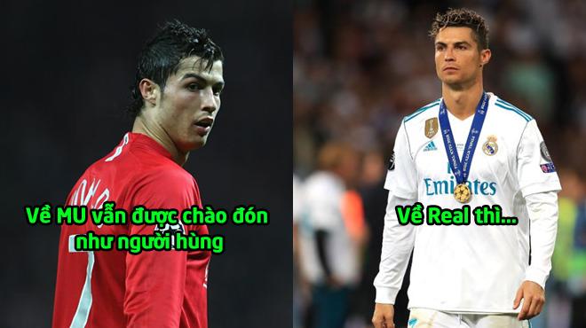 """Cristiano Ronaldo: """"Hy vọng CĐV Real vẫn sẽ chào đón Tôi trở lại như MU"""""""