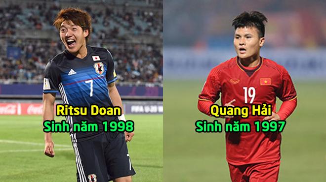 Đội hình U23 kết hợp giữa Việt Nam và Nhật Bản tại tứ kết Asian Cup 2019: Chúng ta áp đảo hoàn toàn