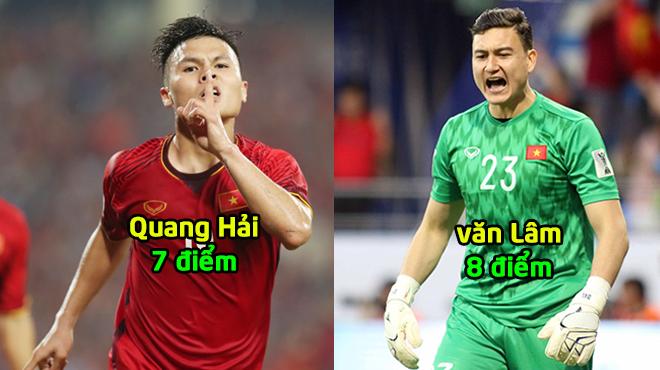 Tờ Fox Sports Asia CHẤM ĐIỂM ĐTVN trước Nhật Bản: Có tới 2 cái tên nhận điểm cao nhất
