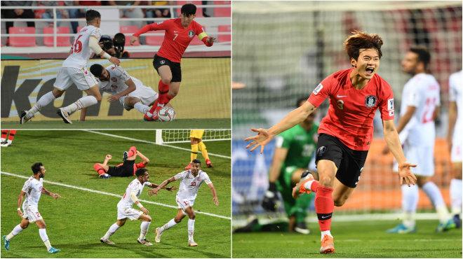 Son Heung-min im hơi lặng tiếng, Hàn Quốc nhọc nhằn đá.nh bại Bahrain ghi tên mình vào tứ kết Asian Cup 2019