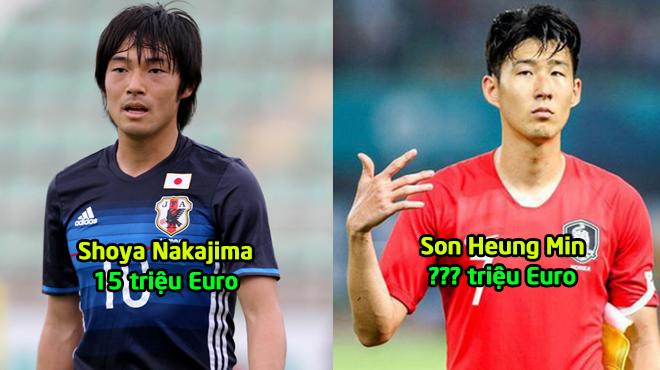 Top 10 ngôi sao đắt giá nhất Asian Cup 2019: 5 siêu sao của Nhật Bản cộng lại cũng chưa bằng cái tên này!