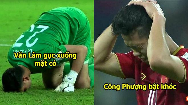 CHÙM ẢNH: ĐTVN buồn bã sau trận thua tiếc nuối, nhìn Văn Toàn mà thương quá, đau đến không gượng dậy nổi