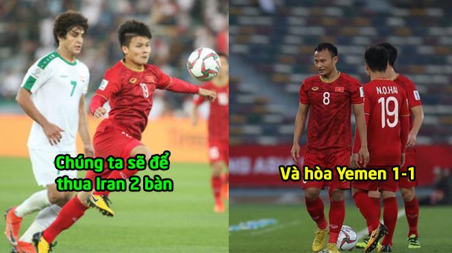 """Danh thủ Quốc Vượng: """"Việt Nam dễ thua Iran 0-2, rồi hòa Yemen 1-1 nhưng tôi mong dự đoán của mình sai!"""""""
