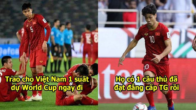 """CĐV Châu Á: """"Việt Nam đang đá World Cup à? 1 cầu thủ của họ thi đấu như ở đẳng cấp thế giới"""""""