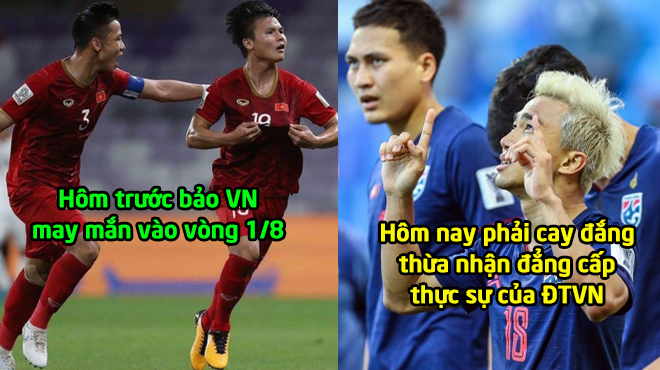 """CĐV Thái Lan cay đắng thừa nhận: """"Chúng ta thua Việt Nam thật rồi, họ đã đạt tới tầm đẳng cấp châu Á"""""""