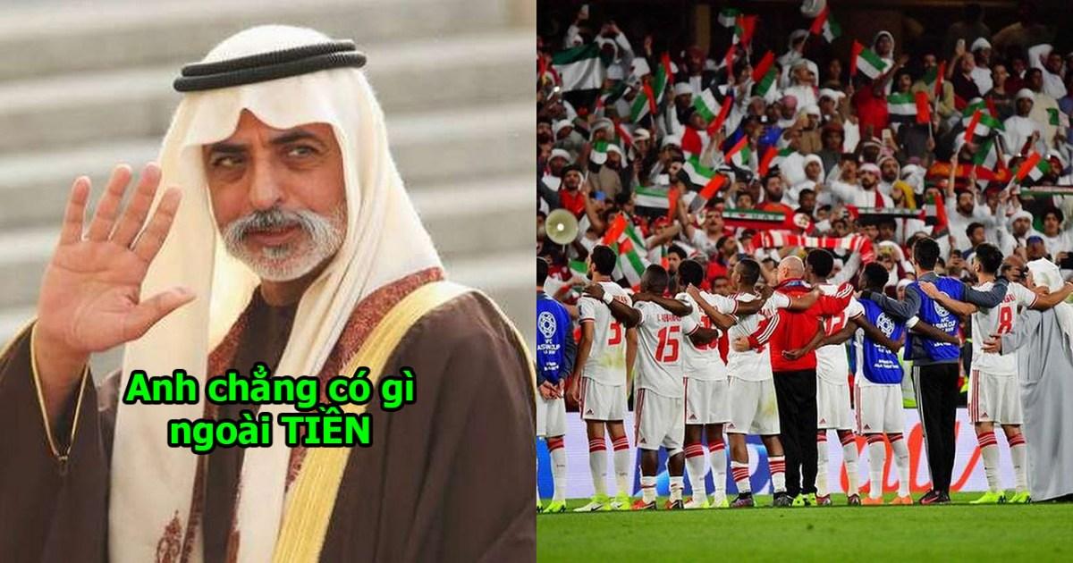 Chơi trội như nước chủ nhà: Hoàng tử UAE vung tiền mua hết vé cả SVĐ, ngăn CĐV Qatar đến sân cổ vũ khiến cả châu Á bất bình