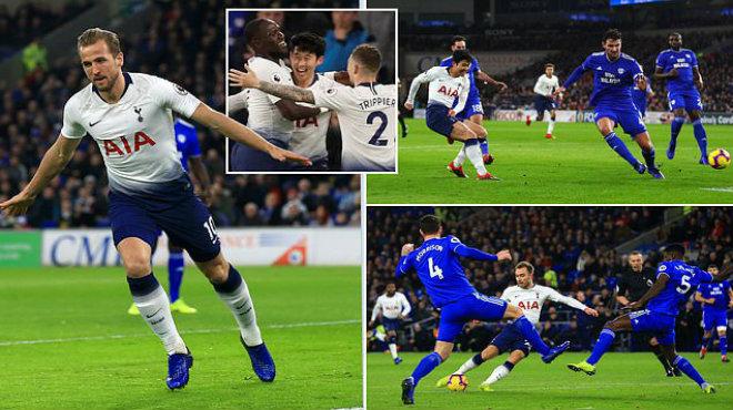 Son Heung Min lập siêu phẩm k.ết li.ễu; Gà trống Tottenham lấy lại thể diện sau trận thua mất mặt