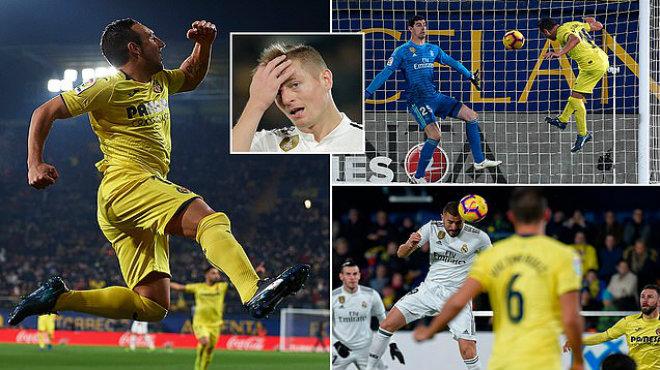 Kết quả Villarreal vs Real Madrid: Rượt đuổi nghẹt thở, cú đúp người hùng