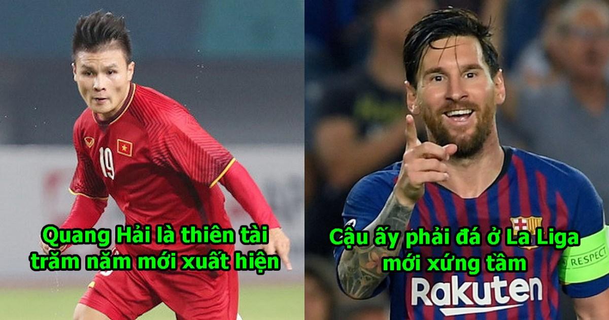 Quá ngưỡng mộ thiên tài của ĐTVN, giám đốc La Liga muốn mời Quang Hải sang Tây Ban Nha thi đấu