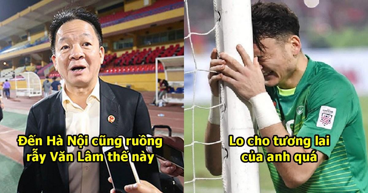 Mông lung như 1 trò đùa: Hà Nội FC khẳng định không hề mua Văn Lâm, tương lai của anh khá mù mịt
