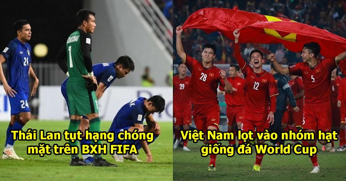 Thua Ấn Độ, Thái Lan tụt hạng không phanh trên BXH FIFA, giờ bị Việt Nam bỏ xa lắm rồi