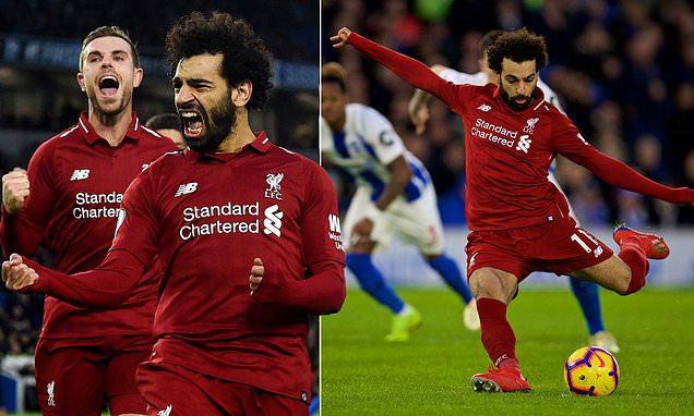 Mohamed Salah khôn khéo gài bẫy đối thủ, Liverpool may mắn giành 3 điểm trên sân khách