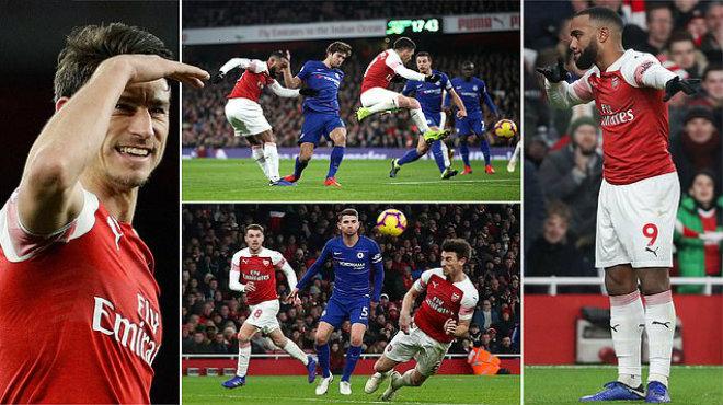Kết quả Arsenal vs Chelsea: Tấn công bốc lửa và hai đòn đau cho.áng váng