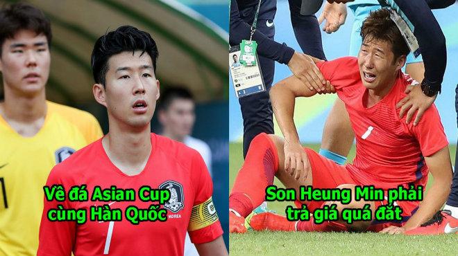 Trở về đá Asian Cup cùng Hàn Quốc, Son Heung Min phải trả cái giá cực đắt này